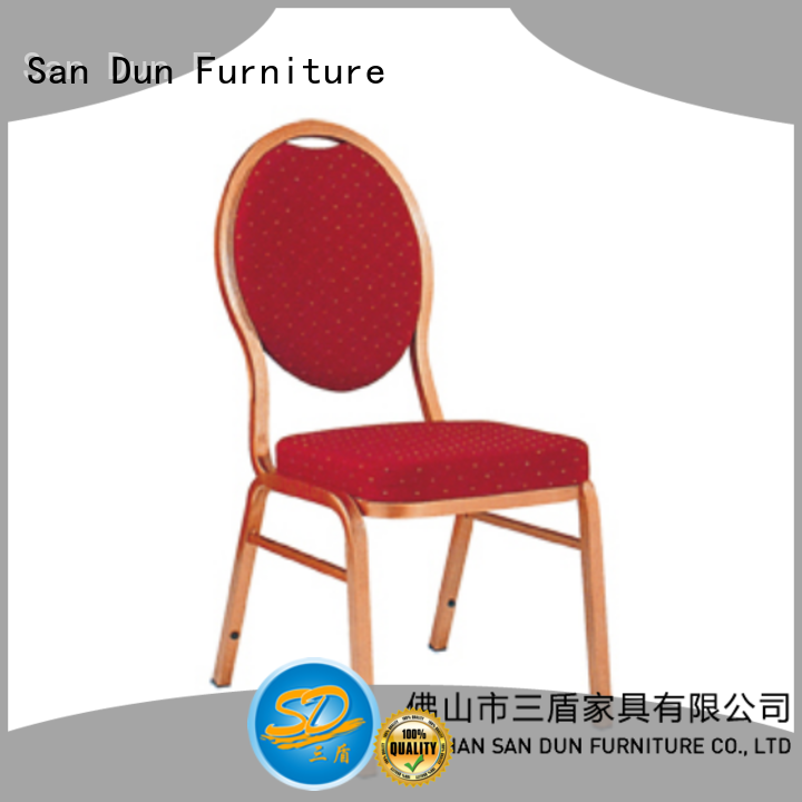 San Dun top selling fabric dining chairs from China for restaurant