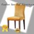 ya014 wooden chair with fabric seat design dining San Dun