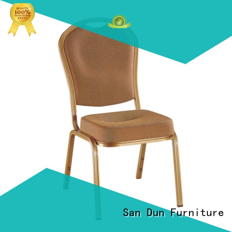 San Dun stackable aluminum chairs best manufacturer bulk production