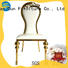ballroom vintage metal chairs restaurant for hotel San Dun