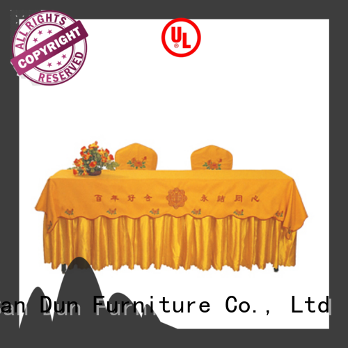 practical banquet tablecloths cheap factory for promotion