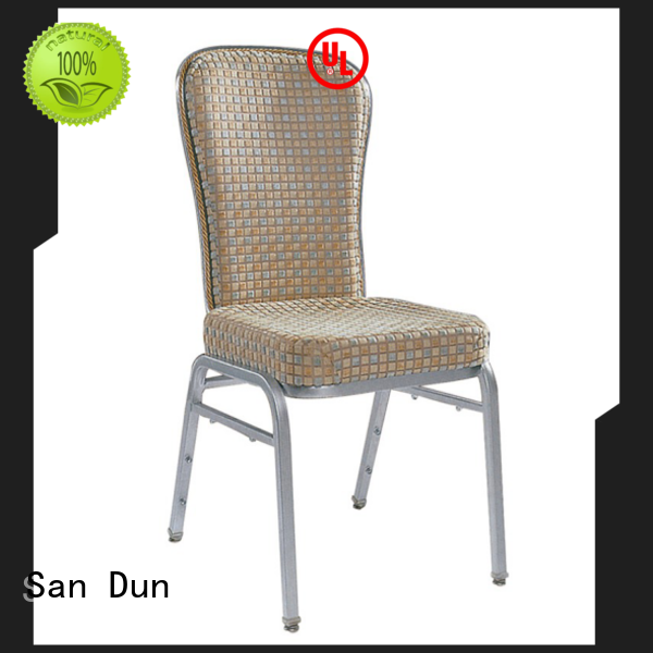 San Dun durable stacking banquet chairs from China for sale