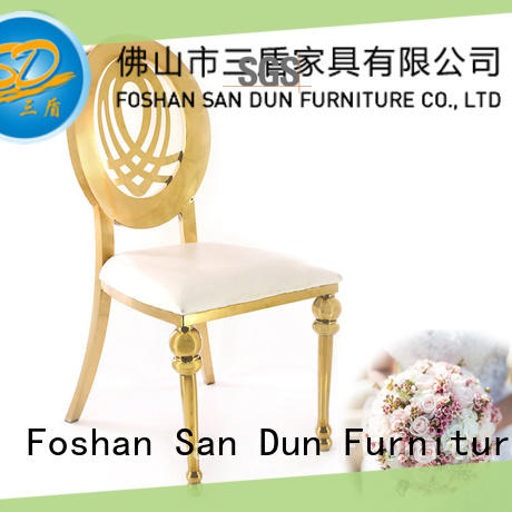 good quality Stainless Steel Chair manufacturer manufacturer for hotel San Dun