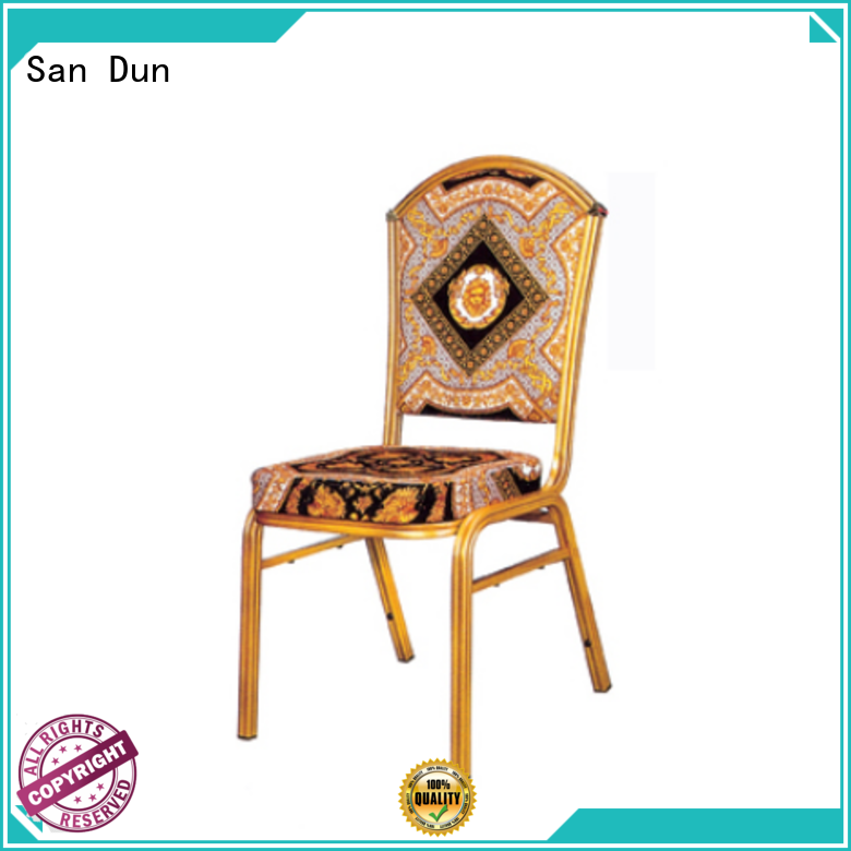San Dun cast aluminum chairs manufacturer bulk production