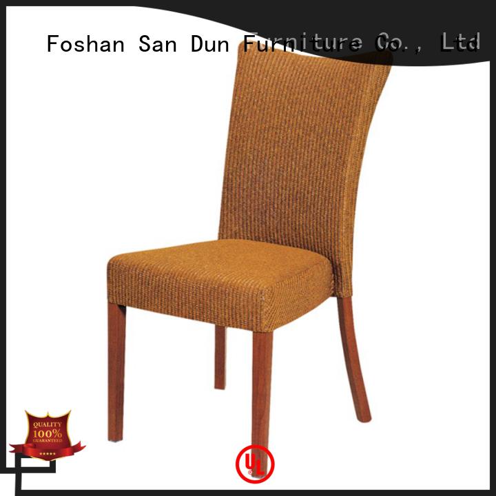 black restaurant wooden chair ya080 dining San Dun