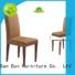 black wooden chair with fabric seat dinner dining San Dun