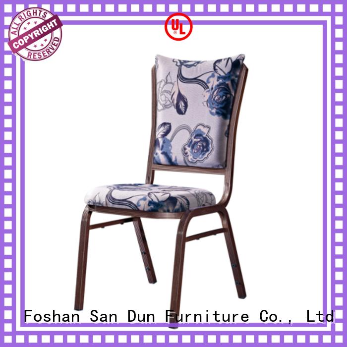 San Dun aluminum chair supply for promotion