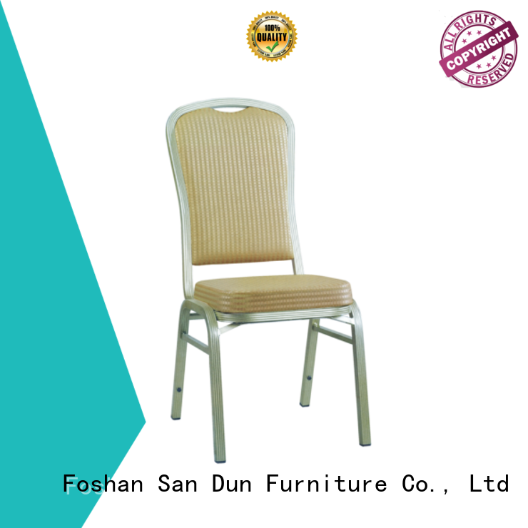 San Dun aluminium cafe chairs supply for coffee shop