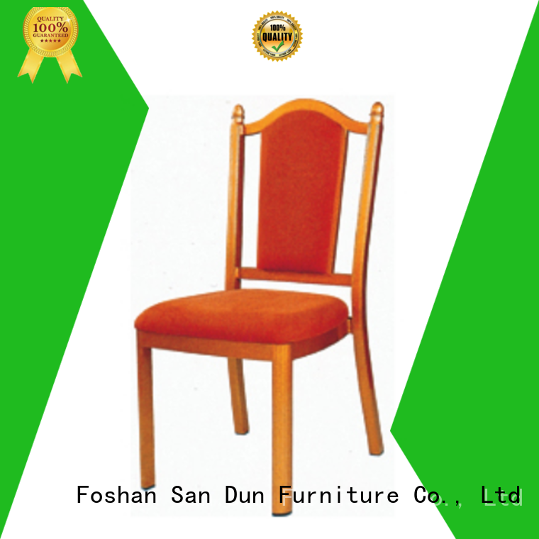 San Dun factory price aluminium cafe chairs factory for coffee shop