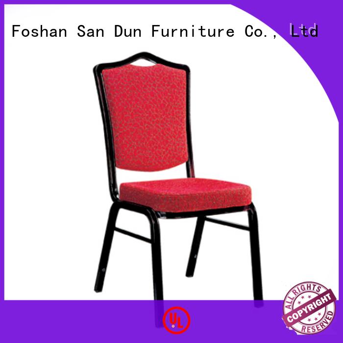 San Dun eco-friendly aluminum restaurant chairs supply bulk buy