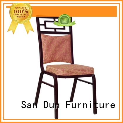 San Dun aluminium cafe chairs series for party hall