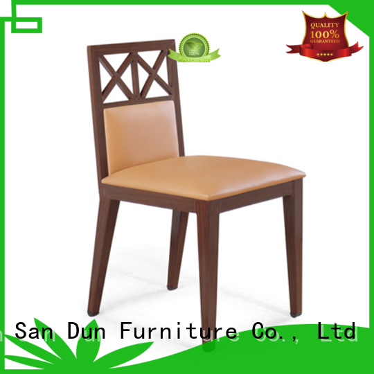 design wooden chair with cushion supplier wedding