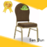 eco-friendly aluminum dining chair manufacturer for sale