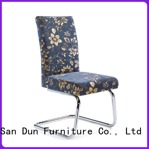 San Dun low-cost steel chair for restaurant directly sale for church
