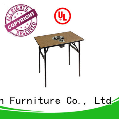 Square Laminate  Hot Pot Table Folding Restaurant Table YF-016