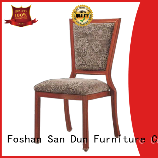fashion light wood dining chairs design for hotel