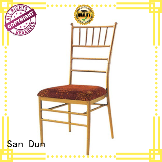 San Dun stable clear chiavari chairs wedding from China for wedding