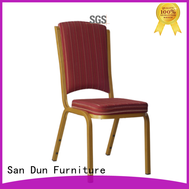 San Dun aluminium cafe chairs best supplier for sale