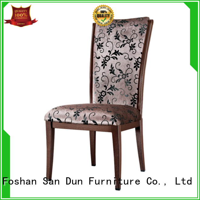 light wood dining chairs stacking for hotel San Dun