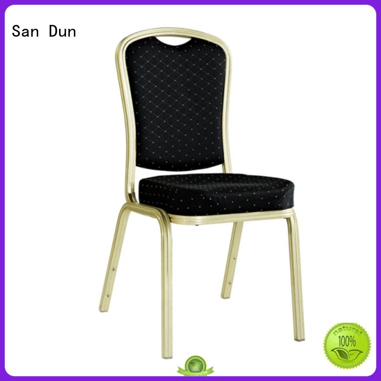 San Dun restaurant aluminum chair factory for meeting