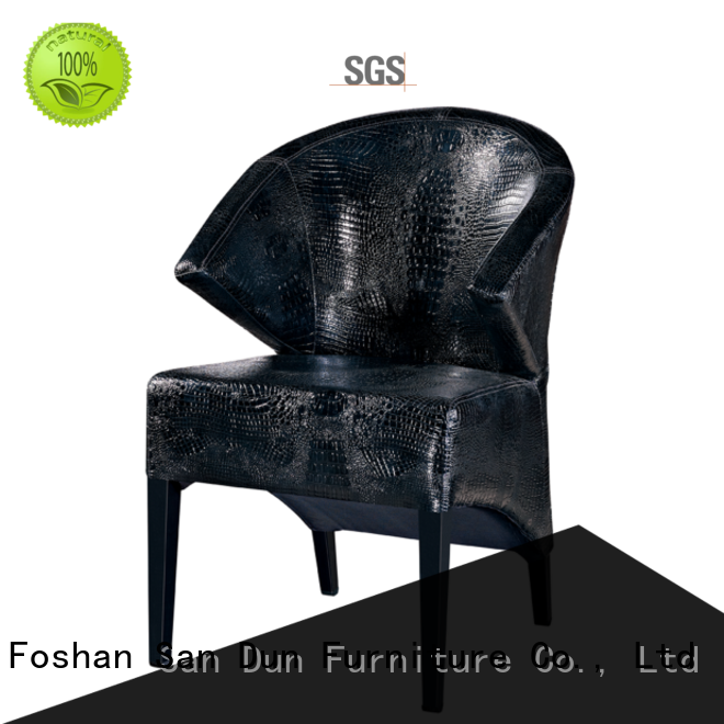 wood dining chairs with upholstered seats supplier for dining San Dun