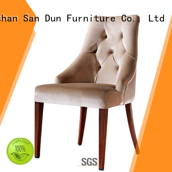 San Dun cucurbit modern wood chair China for hotel