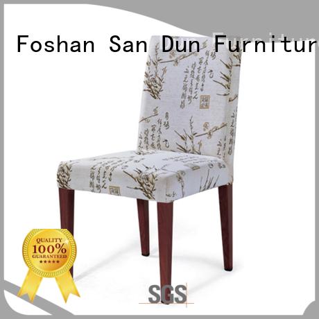 San Dun tea light wood dining chairs furniture hotel