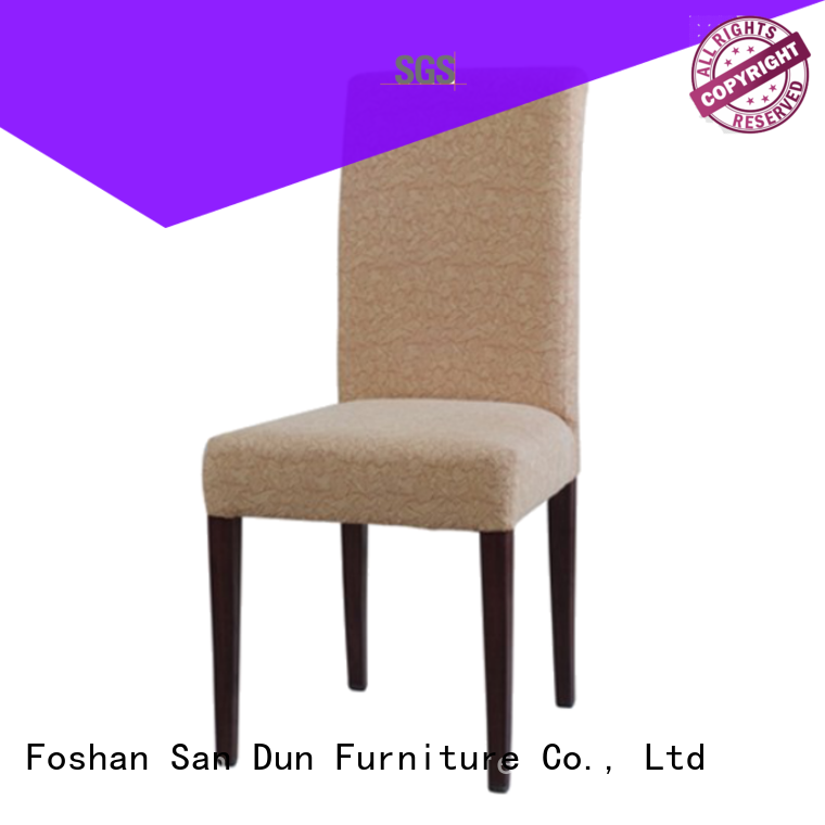 San Dun elegant wooden chair set designs with good price for sale