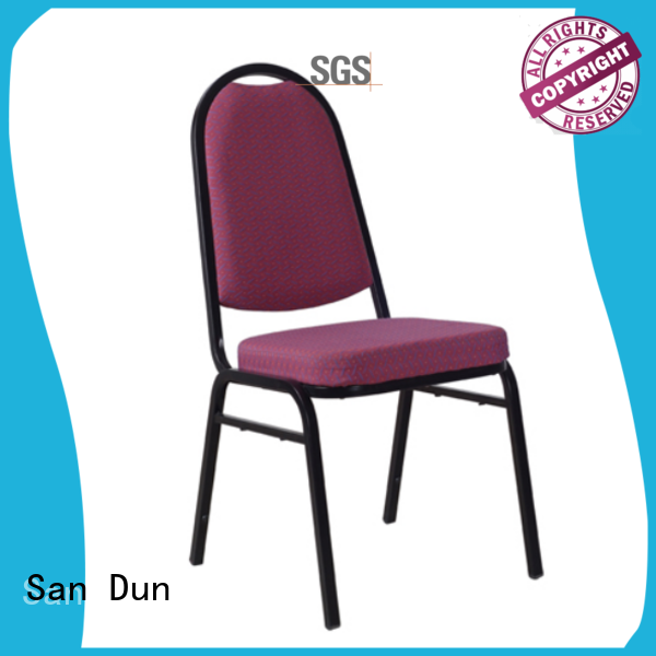 San Dun hot-sale stackable metal chairs directly sale for cafes