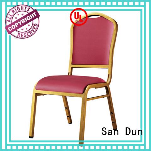 San Dun steel frame dining chairs manufacturer for restaurant