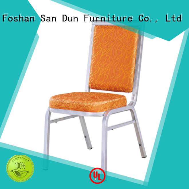 San Dun aluminum chair factory for restaurant