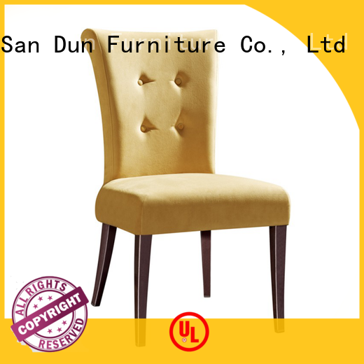 San Dun fabric simple wooden dining chairs ya097 for party