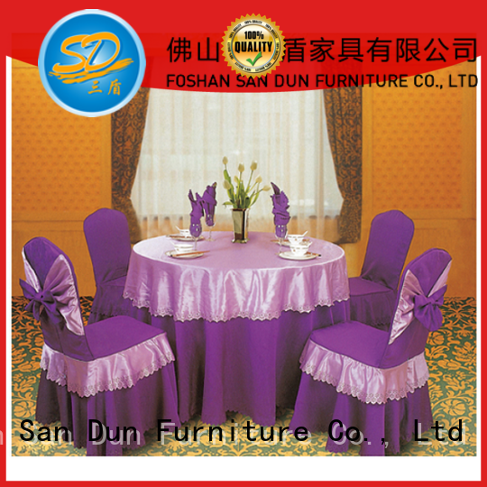 San Dun low-cost banquet table covers from China bulk production