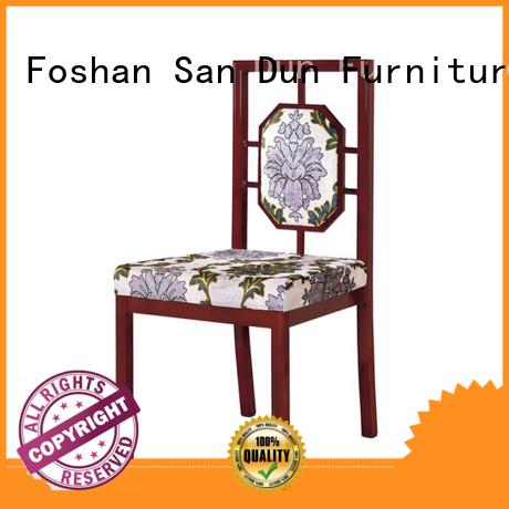 San Dun velvet wooden chair dining furniture party