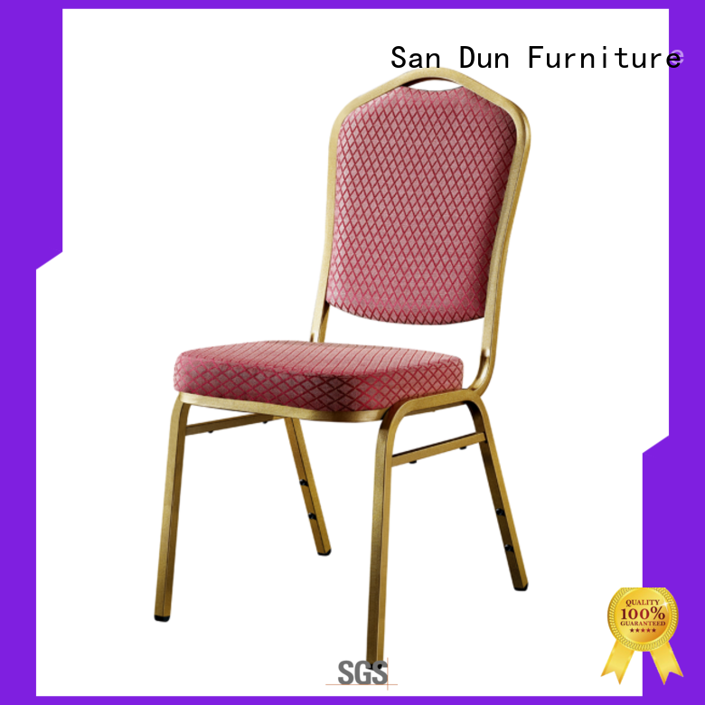 San Dun best modern steel chair supplier bulk production